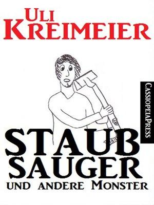 cover image of Staubsauger und andere Monster (Kurzgeschichten)