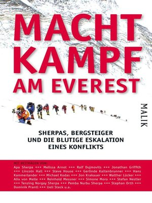 cover image of Machtkampf am Everest