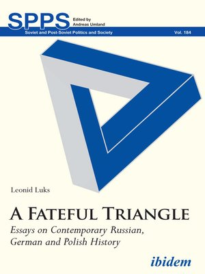 cover image of A Fateful Triangle
