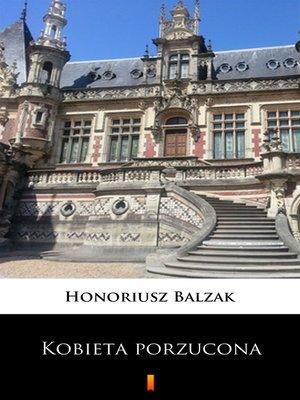 cover image of Kobieta porzucona