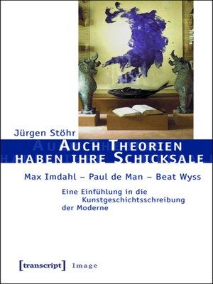 cover image of Auch Theorien haben ihre Schicksale