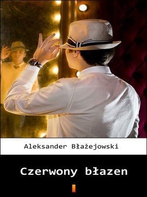 cover image of Czerwony błazen
