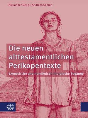 cover image of Die neuen alttestamentlichen Perikopentexte