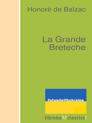 cover image of La Grande Breteche