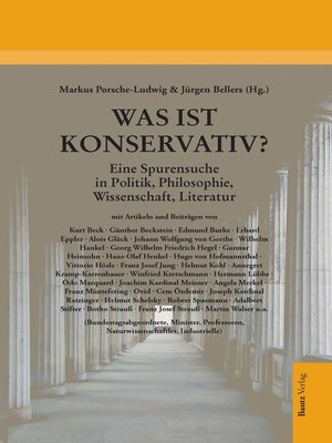 cover image of Was ist konservativ?