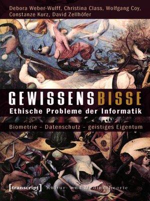 cover image of Gewissensbisse