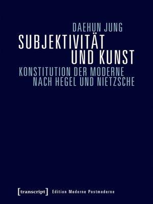 cover image of Subjektivität und Kunst