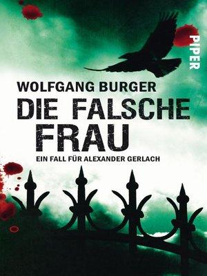 cover image of Die falsche Frau