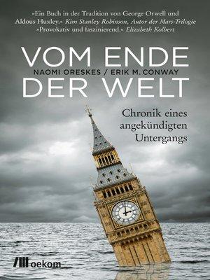 cover image of Vom Ende der Welt