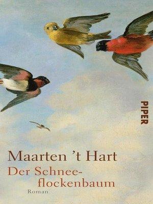 cover image of Der Schneeflockenbaum