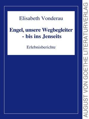 cover image of Engel, unsere Wegbegleiter--bis ins Jenseits