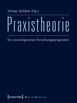 cover image of Praxistheorie