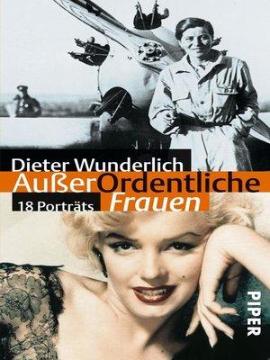 cover image of AußerOrdentliche Frauen