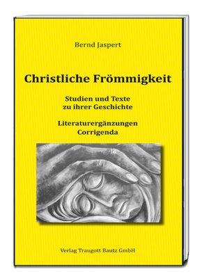cover image of Christliche Frömmigkeit