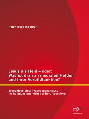 cover image of Jesus als Held – oder