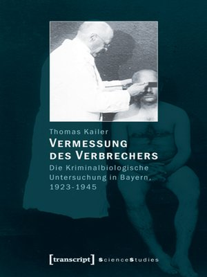 cover image of Vermessung des Verbrechers