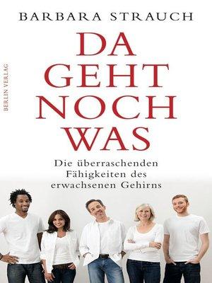 cover image of Da geht noch was