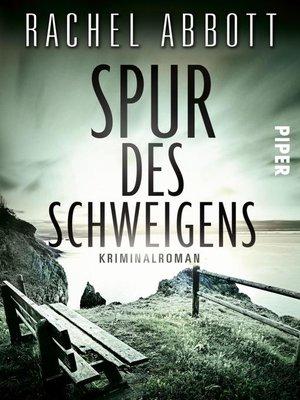 cover image of Spur des Schweigens