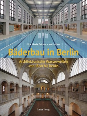 cover image of Bäderbau in Berlin