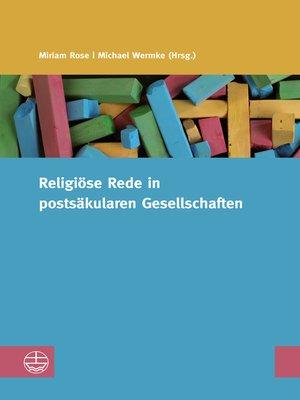 cover image of Religiöse Reden in postsäkularen Gesellschaften