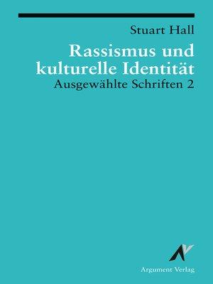 cover image of Rassismus und kulturelle Identität