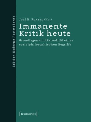 cover image of Immanente Kritik heute