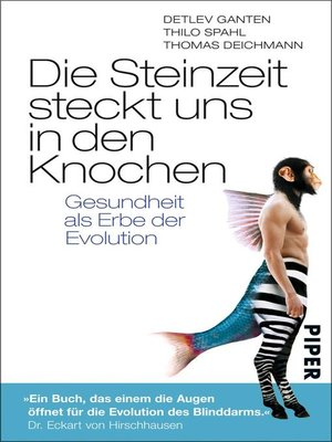 cover image of Die Steinzeit steckt uns in den Knochen