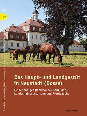 cover image of Das Haupt- und Landgestüt in Neustadt (Dosse)