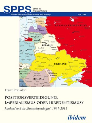 cover image of Positionsverteidigung, Imperialismus oder Irredentismus?