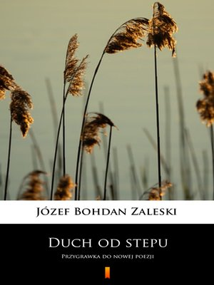 cover image of Duch od stepu