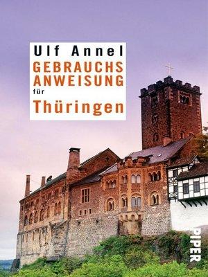 cover image of Gebrauchsanweisung für Thüringen