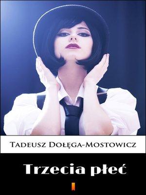 cover image of Trzecia płeć