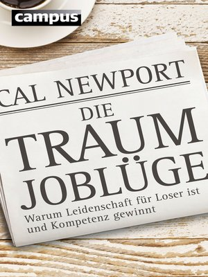 cover image of Die Traumjoblüge