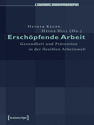 cover image of Erschöpfende Arbeit