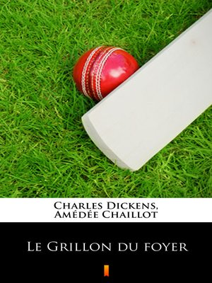 cover image of Le Grillon du foyer