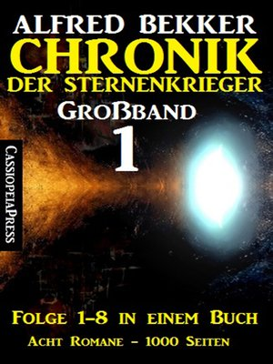 cover image of Chronik der Sternenkrieger Großband 1
