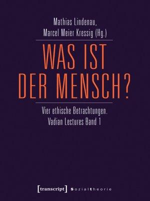 cover image of Was ist der Mensch?