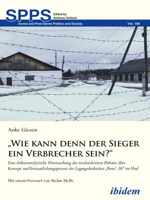 """cover image of """"Wie kann denn der Sieger ein Verbrecher sein?"""""""