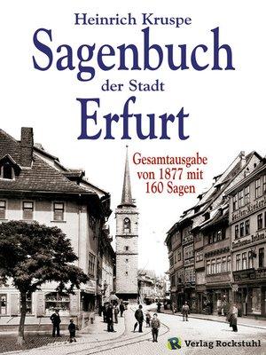 cover image of Sagenbuch der Stadt Erfurt