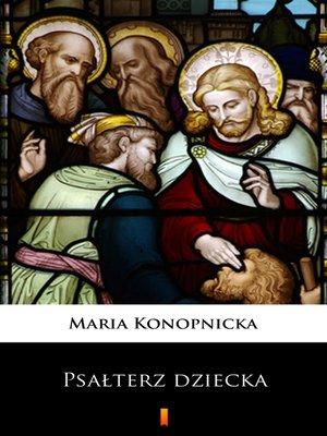 cover image of Psałterz dziecka