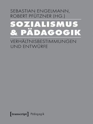 cover image of Sozialismus & Pädagogik