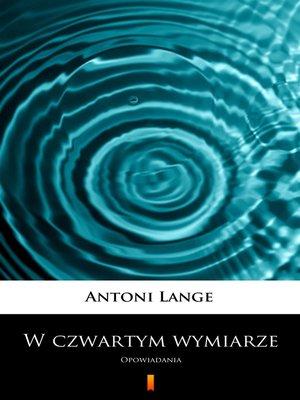 cover image of W czwartym wymiarze