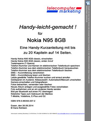 cover image of Nokia N95 8GB-leicht-gemacht