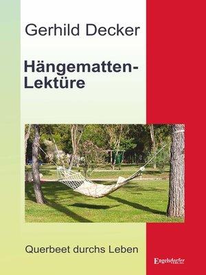 cover image of Hängematten-Lektüre