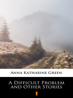 cover image of A Difficult Problem and Other Stories