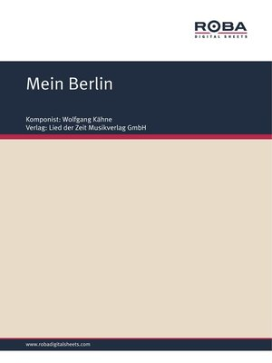 cover image of Mein Berlin