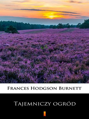 cover image of Tajemniczy ogród