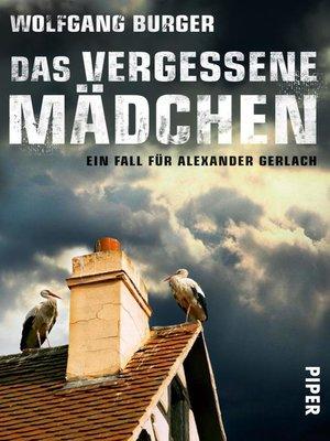 cover image of Das vergessene Mädchen