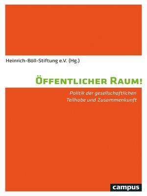 cover image of Öffentlicher Raum!