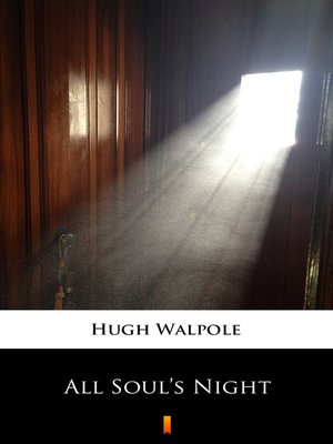 cover image of All Soul's Night
